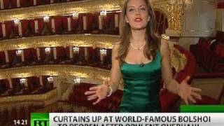 Download RT inside Bolshoi Theater after $700-million overhaul Video