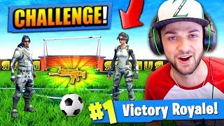 Download The FOOTBALL CHALLENGE in Fortnite: Battle Royale! Video