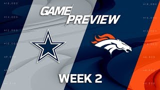 Download Dallas Cowboys vs. Denver Broncos | Week 2 Game Preview | Move the Sticks Video