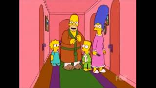 Download The Simpsons - Maggie locked in bathroom Video