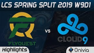 Download FLY vs C9 Highlights LCS Spring 2019 W9D1 Flyquest vs Cloud9 LCS Highlights by Onivia Video