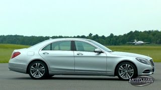 Download Driving the Mercedes S Class & Mercedes S550 Plug In Hybrid Preview Video