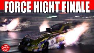 Download Funny Car Drag Racing John Force Night Under Fire Summit Motorsports Park 2013 Video