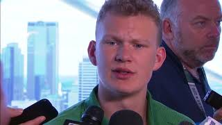 Download Brady Tkachuk expecting 90-95 guests at NHL Draft Video