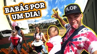 Download VIRAMOS BABÁS DE 3 BEBÊS POR UM DIA!! Video