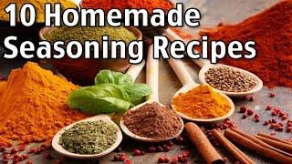 Download 10 Homemade Seasonings! Video