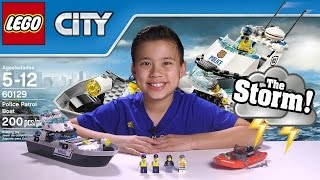 Download POLICE PATROL BOAT - LEGO City Set 60129 UNDERWATER GoPro ACTION! Time-lapse, Unboxing, & Review Video
