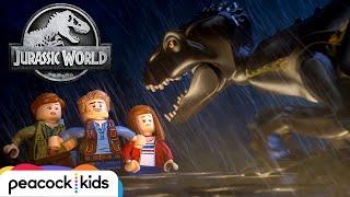Download Escape the Indoraptor | LEGO JURASSIC WORLD Video
