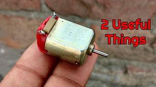 Download 2 Incredible Gadgets From DC Motor | Life Hacks Video
