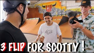 Download 360 FLIP FOR SCOTTY & ANOTHER HIGH JUMP! Video