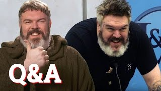 Download Kristian Nairn aka Hodor from Game of Thrones answers every question ever... Video