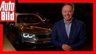 Download AUTO BILD Interview: BMW-Vorstand Robertson zum neuen 5er / Review Video