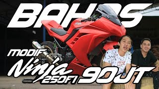 Download BAHAS : MOTOR BALAP NINJA 250FI MODIF 90JT Video