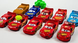 Download Lightning McQueen Multiplier Clones Everywhere Disney Cars Toys Movies - ACTION Video