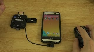 Download Micro USB OTG 3-Port Hub with Card Reader (Unboxing and Demonstration) Video