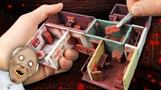 Download Making GRANNY'S First Floor Miniature House in POLYMER CLAY! Video