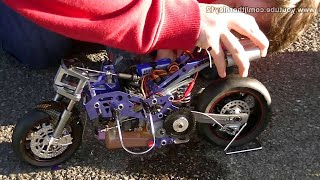 Download HobbyKing Nitro RC Bike First Start Video