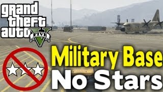 Download GTA 5 - GET INTO MILITARY BASE WITH NO STARS (How To / Tutorial) [GTA V] Video