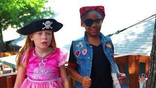 Download High Top Princess 3 - Kitty Land, The Pink Princess Carriage and The Pirate Ship Video