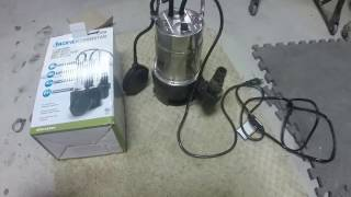Download 3/4 HP Harbor Freight Sump pump review Video