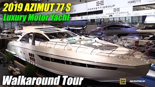 Download 2019 Azimut 77 S Luxury Yacht - Walkaround - 2019 Boot Dusseldorf Video