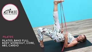 Download Pilates, Resistance Band Full Body Workout 20 Mins with Caity Video