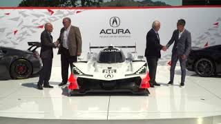 Download HPD Trackside - Acura ARX-05 DPi Car Reveal in Monterey Video