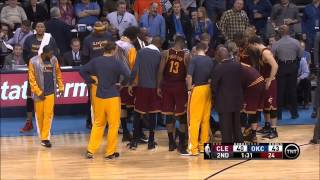 Download Kyrie Irving injury against Oklahoma City (12-11-14) Video