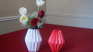 3d Origami Flower Vase Easy Step Free Download Video Mp4 3gp M4a