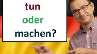 Download Tun czy machen? Jak jest różnica? - język niemiecki - gerlic.pl Video