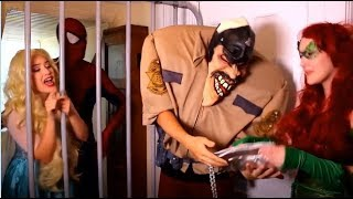Download Frozen elsa and Spiderman arrested by police Video