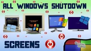 Download ALL MICROSOFT WINDOWS SHUTDOWN SCREENS 1 0 SERVER 2019 Video