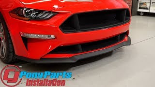 Download 2018-2019 Mustang GT/EcoBoost Cervini Upper/Lower Grille C-Series Textured Matte Black Installation Video