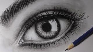 Download Como desenhar um olho realista  How to draw realistic eye Video
