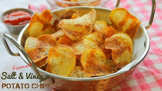 Download Homemade Salt and Vinegar Potato Chips Video