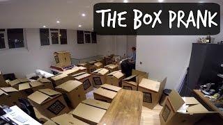 Download BOX PRANK ON ROOMMATE Video