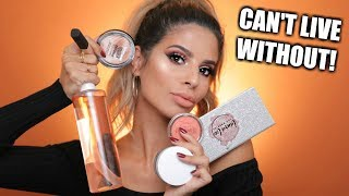 Download MAKEUP I CAN'T LIVE WITH OUT | MUST HAVES! Video