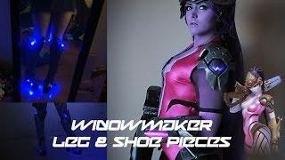Download Widowmaker-Overwatch | Leg & Shoe Pieces | Work Log Video