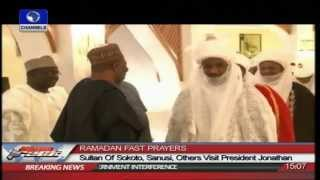 Download Sultan Of Sokoto, Sanusi,Others Visit President Jonathan Video