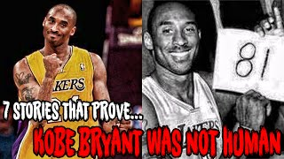Download 7 STORIES THAT PROVE KOBE BRYANT WAS NOT HUMAN! Video