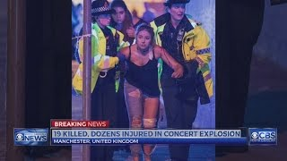 Download At least 19 dead after explosion at UK concert, officials say Video