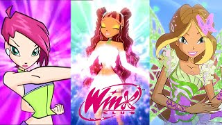 Download Winx Club: All Transformations Up To Butterflix! Video