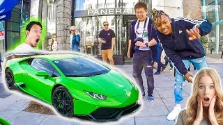 Download DRIVING A LAMBORGHINI THROUGH BEVERLY HILLS *Funny Reactions* Video