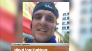 Download Agreden el melillense Miguel Ángel Rodríguez en Pamplona por correr con la bandera de España Video
