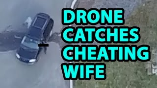 Download Drone used to catch cheating wife Video