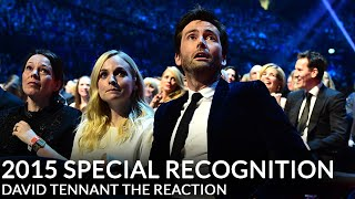 Download David Tennant's NTA Special Recognition - His Reaction Video