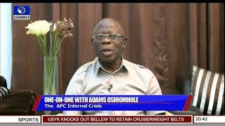 Download Oshiomhole's Reaction To DSS Grilling Pt.2 | Sunday Politics | Video
