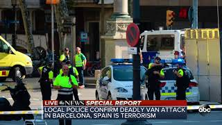 Download SPECIAL REPORT: At least 1 dead in Barcelona terror attack | ABC News Video