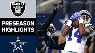 Download Raiders vs. Cowboys | NFL Preseason Week 3 Game Highlights Video