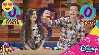 Download Soy Luna   Super Roller Challenge   Karol vs Ruggero   Disney Channel BE Video